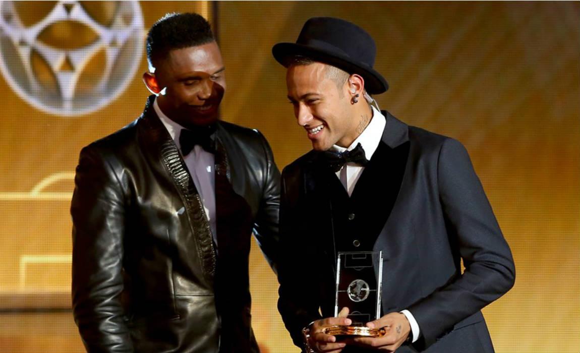 Neymar au Barça? Eto'o, David Villa et Cristiano Ronaldo réagissent