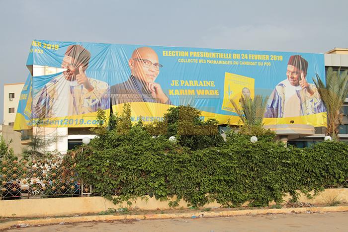 Le PDS, Présidentielle, trois candidats, un parti