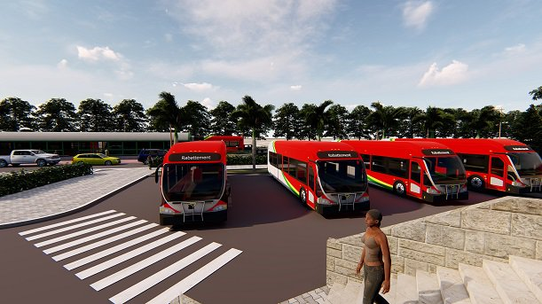 Abdoulaye Daouda Diallo, bus rapides, transit