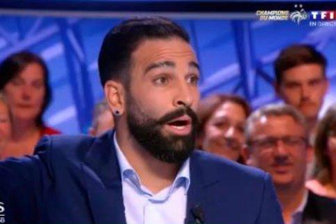 Adil Rami se lâche contre Eric Zemmour et défend les Bleus !