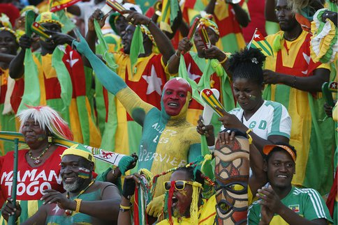 afrique, Football, Gardien, Togo