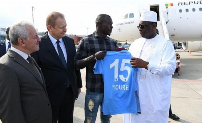 Macky Sall, Maillot, Trabzonspor, Zargo Touré
