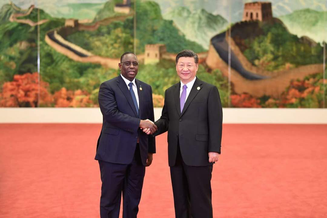 Chine, Macky Sall, Mberry Sylla, Visite