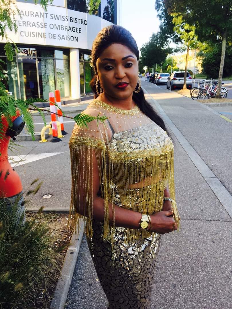 a brillé à Genève, Admirez sa tenue, Alima Ndione, chic