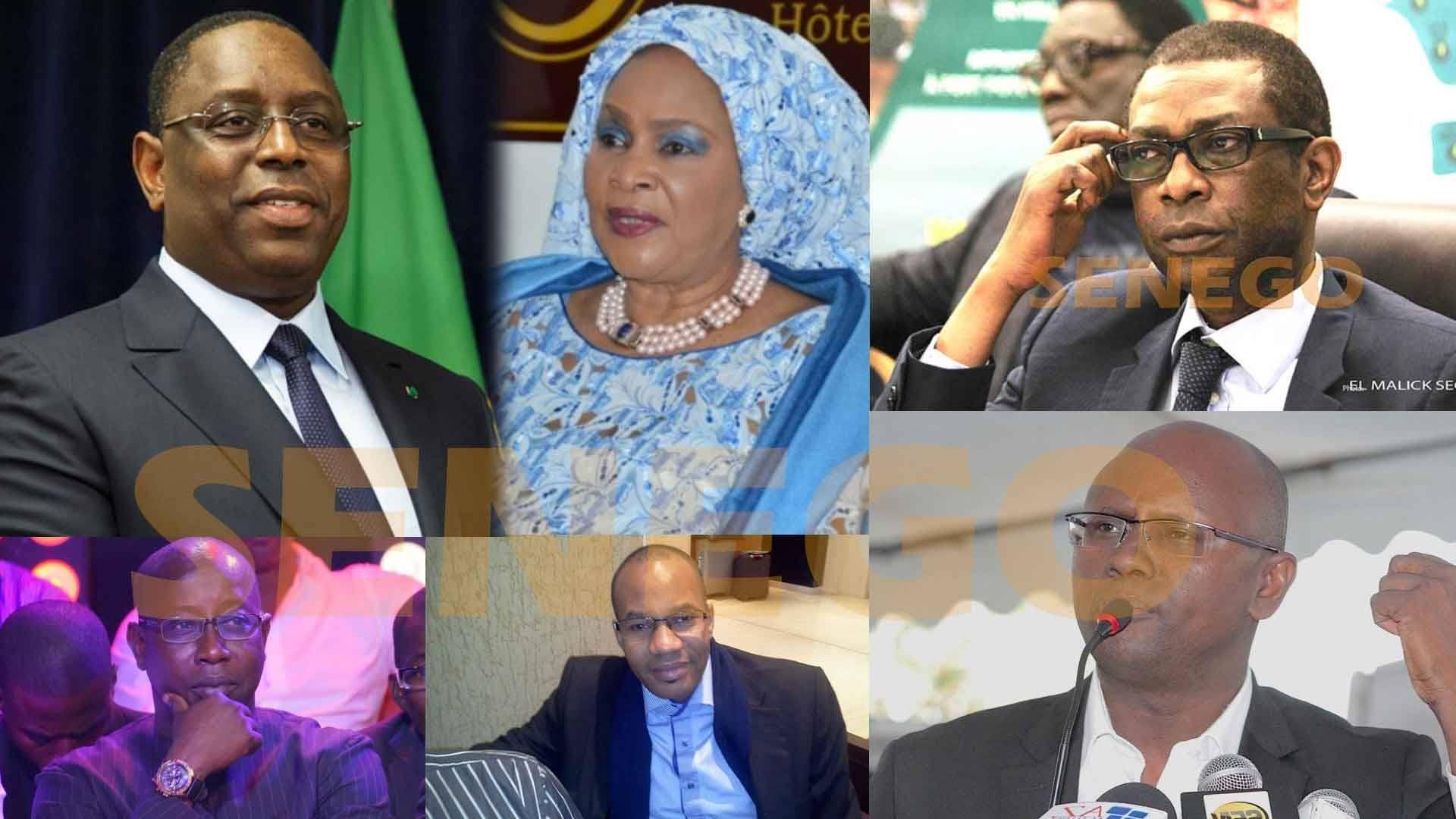 Alasane Samba Diop, Didier Boubs, Groupe Futurs Médias, Macky Sall, Moussa Sy, Youssou Ndour