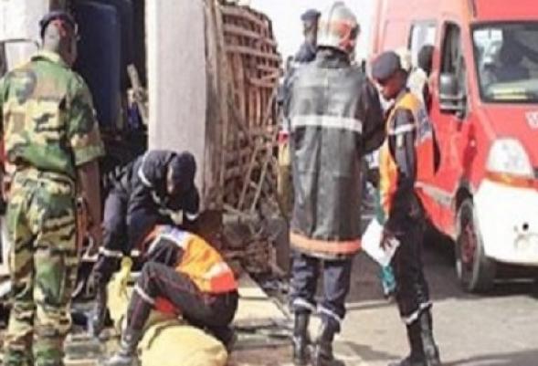 accident, Kaffrine, Koungheul