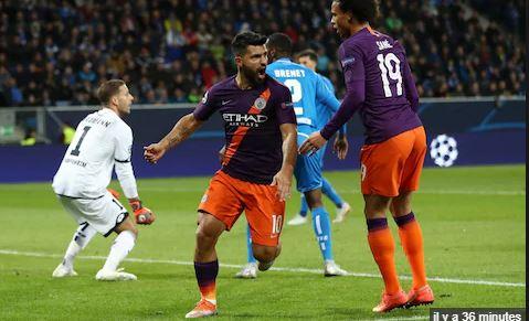 égalisation, LDC, Manchester City