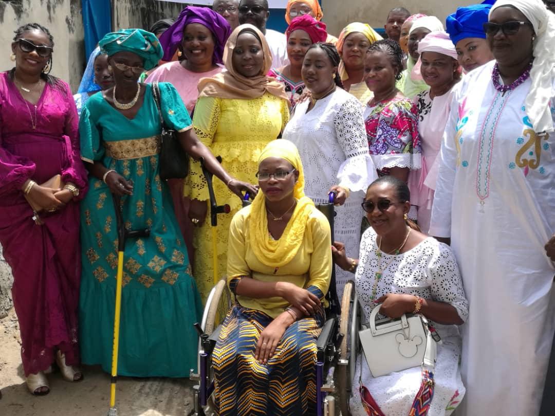 Fatou Diaw DIACK, femmes vivant avec un handicap, l'AFARTP, Ziguinchor