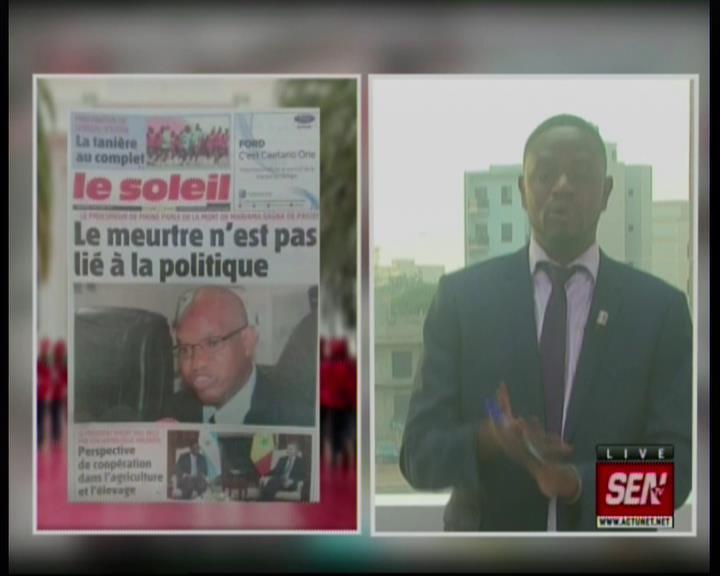 Revue de presse (Wolof) Sen TV du mercredi 10 octobre 2019 par Mame Mbaye Ndiaye