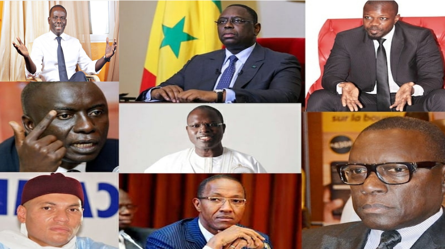 grand parti, Idrissa Seck, Khalifa Sall, Macky Sall, Malick Gackou, sondage