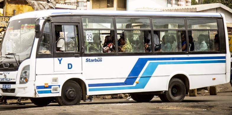 cars Aftu, Dakar, Grève, Transport