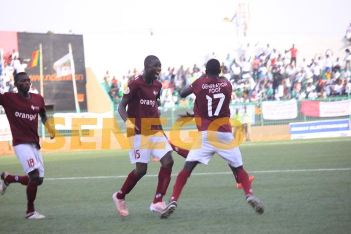 Génération Foot, Jaraaf, Super coupe du Sénégal