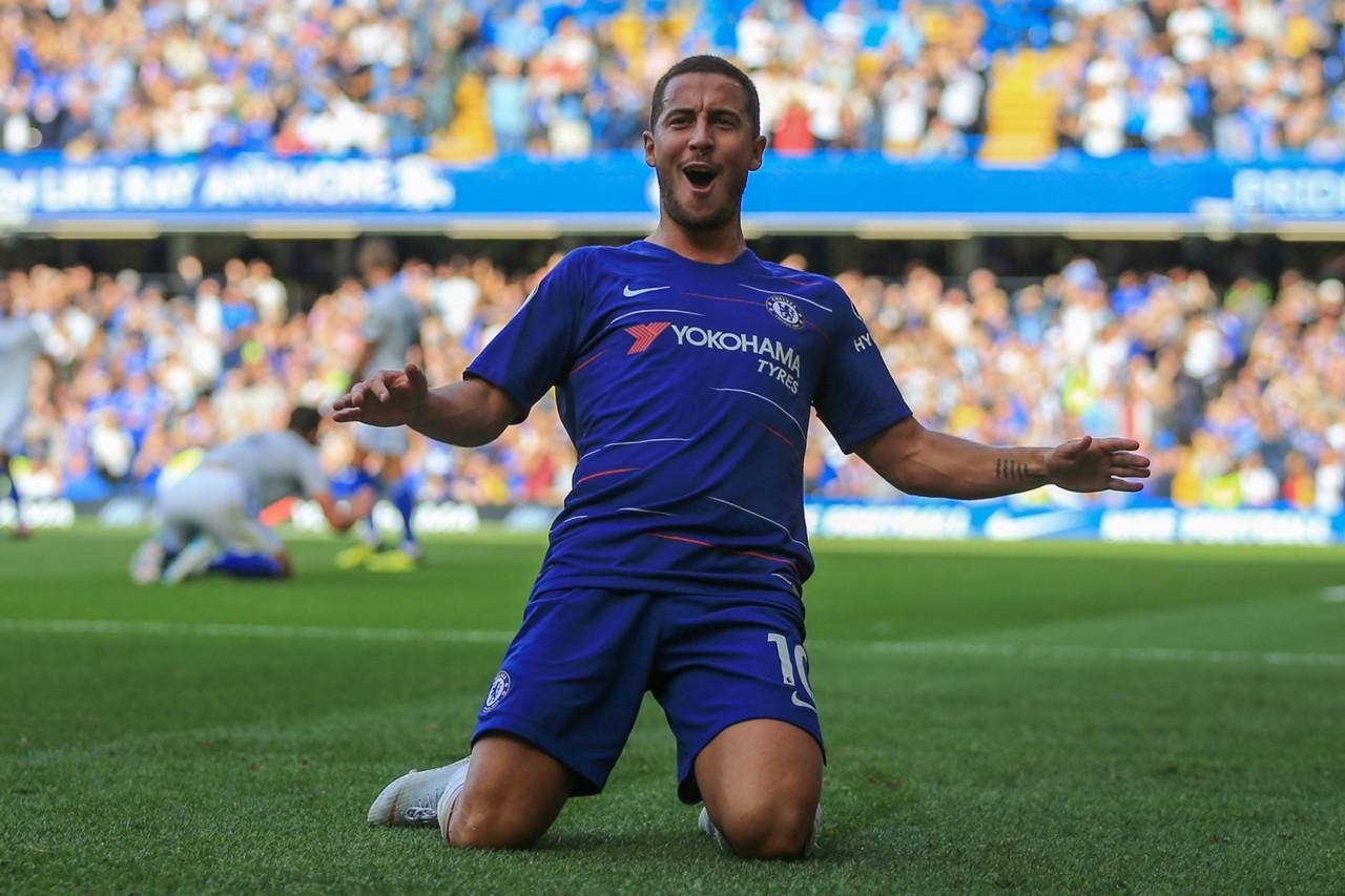 Eden Hazard, Meilleur joueur, Premier league