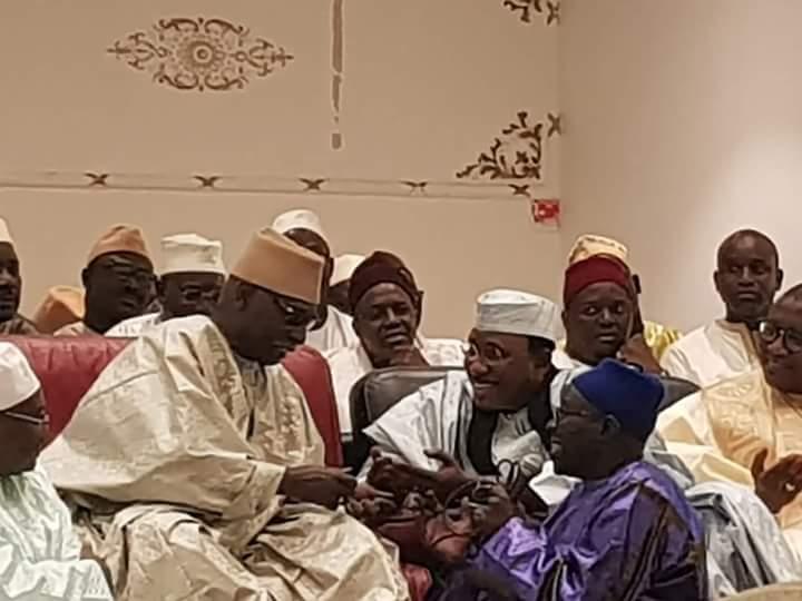 france, Gamou, Serigne Mame Mor Mbacké, Serigne Mbaye Sy Mansour, Visite