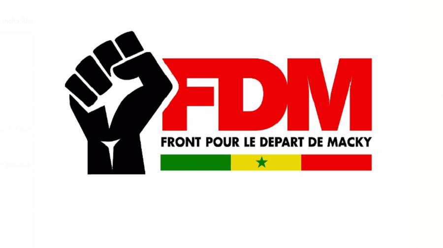 fdm, front pour le départ de Macky