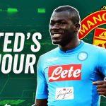 kalidou koulibaly, Manchester United, Mercato, offre de manchester united pour Kalidou Koulibaly, Transfert