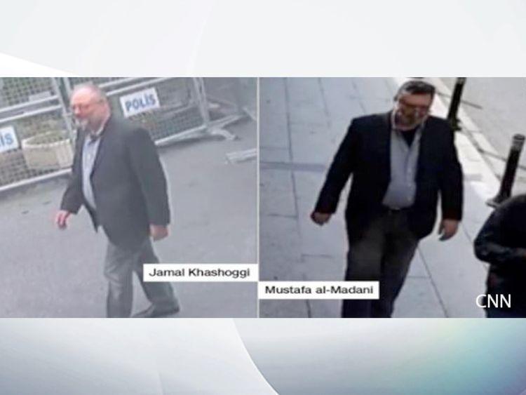 Affaire Khashoggi, consulat saoudien, Journaliste