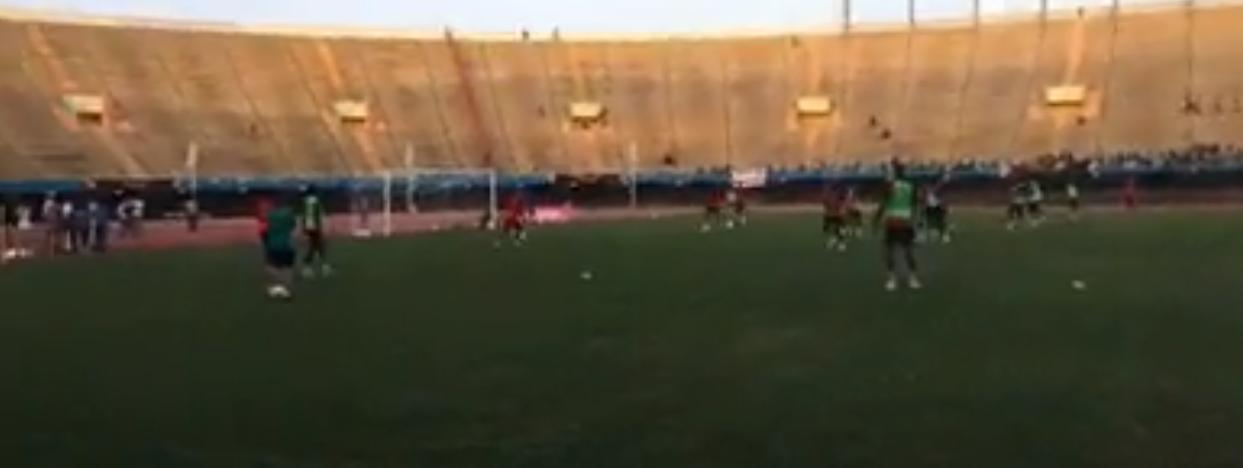 le dernier galop des Lions, leur match contre le Soudan