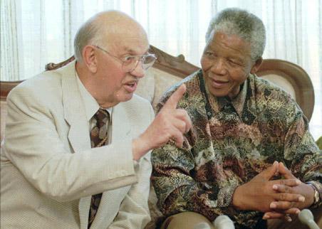 Afrique du Sud, Botha, déces, Nelson Mandela