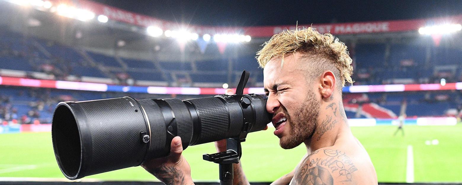 Neymar, Photos, sans appareil