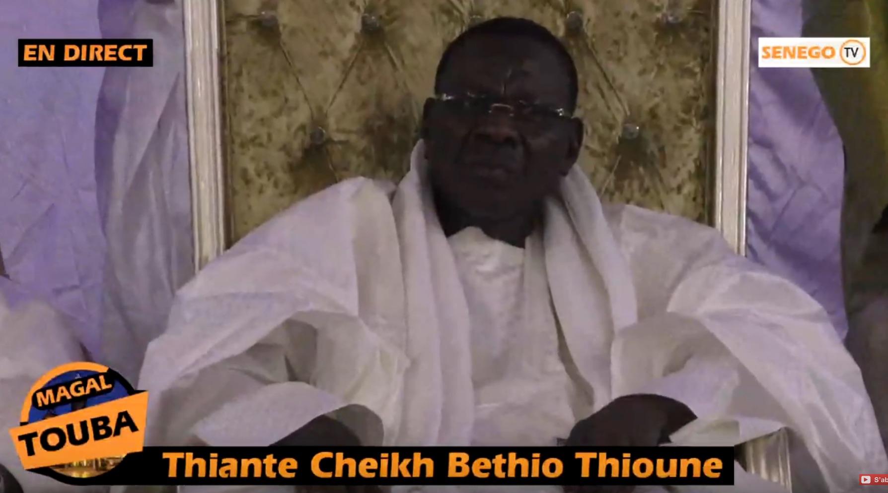Cheikh Béthio Thioune, Magal Touba, sant