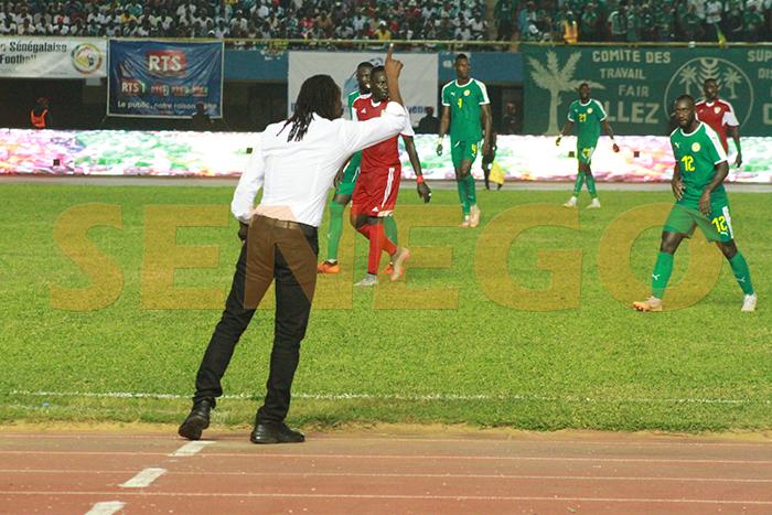 Alioune Cissé, babacar khalifa ndiaye, équipe Sénégal