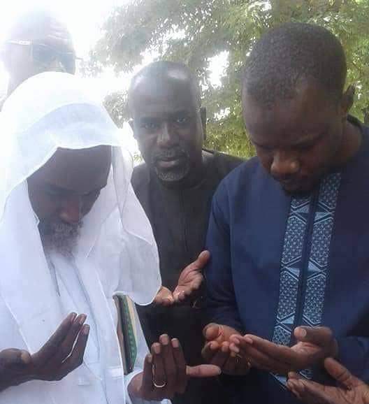 Ousmane Sonko, Prières, Serigne Abdourahmane Mbacké
