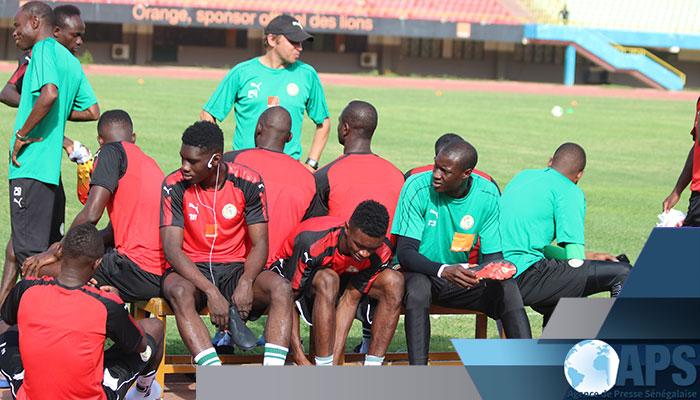 Sénégal, Soudan, tanière, U23