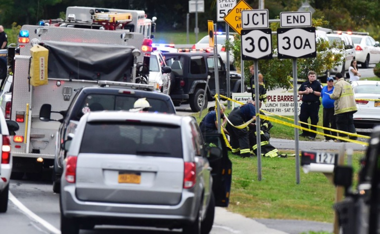 20 morts, accident de véhicules, New York