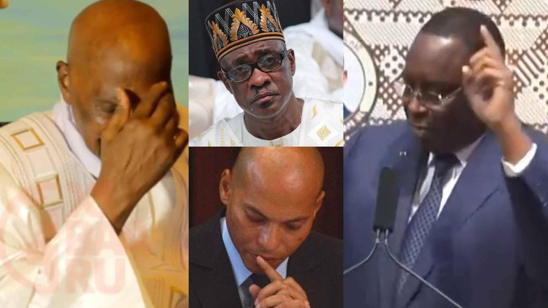 Abdoulaye Wade, Karim Wade, Macky Sall, madické niang