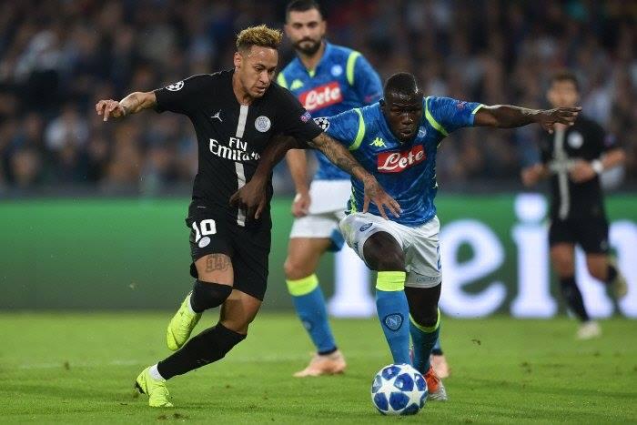 kalidou koulibaly, Ligues de Champions, Mbappé, Naples, Neymar