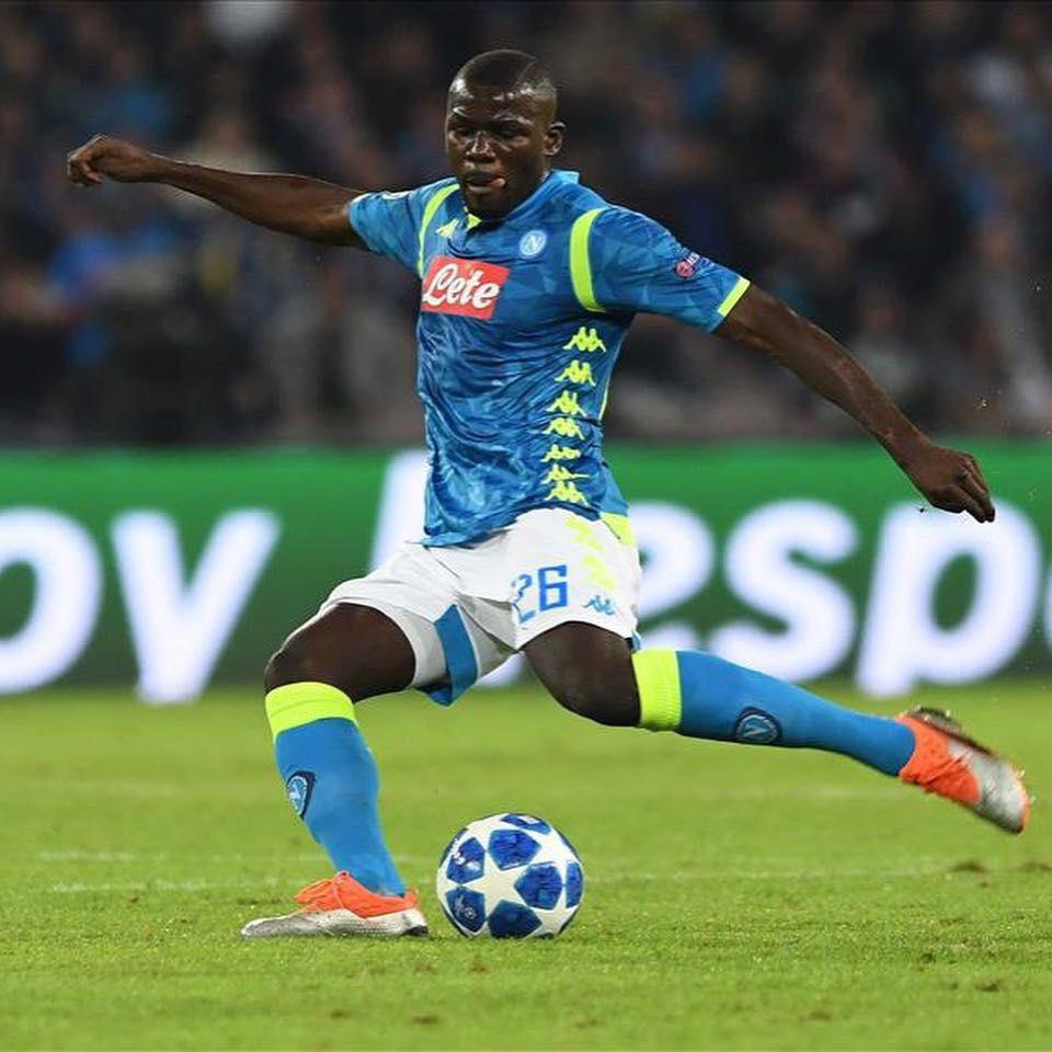 foot, kalidou koulibaly, Lions du Sénégal, match de Kalidou Koulibaly, naples / psg