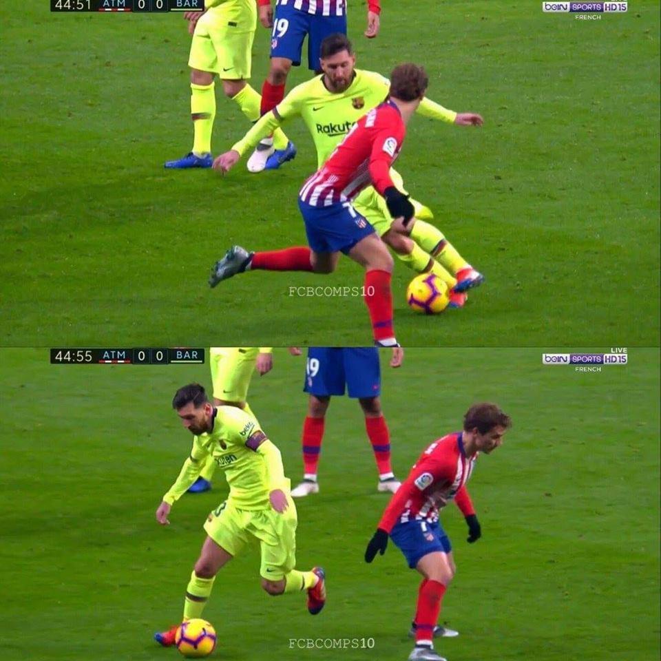 Ballon d'or, griezmann, Messi