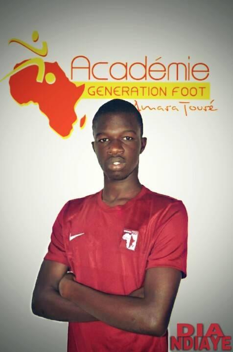 Amadou Dia Ndiaye génération foot