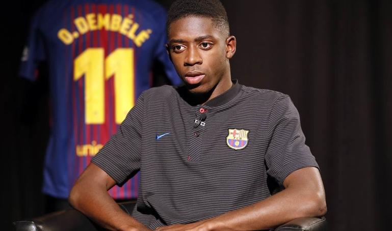 agace, Barça, Dembélé