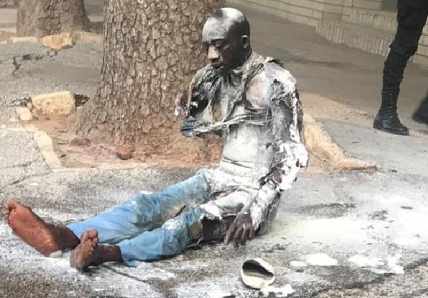 cheikh diop, Cissé Kane Ndao, Immolation