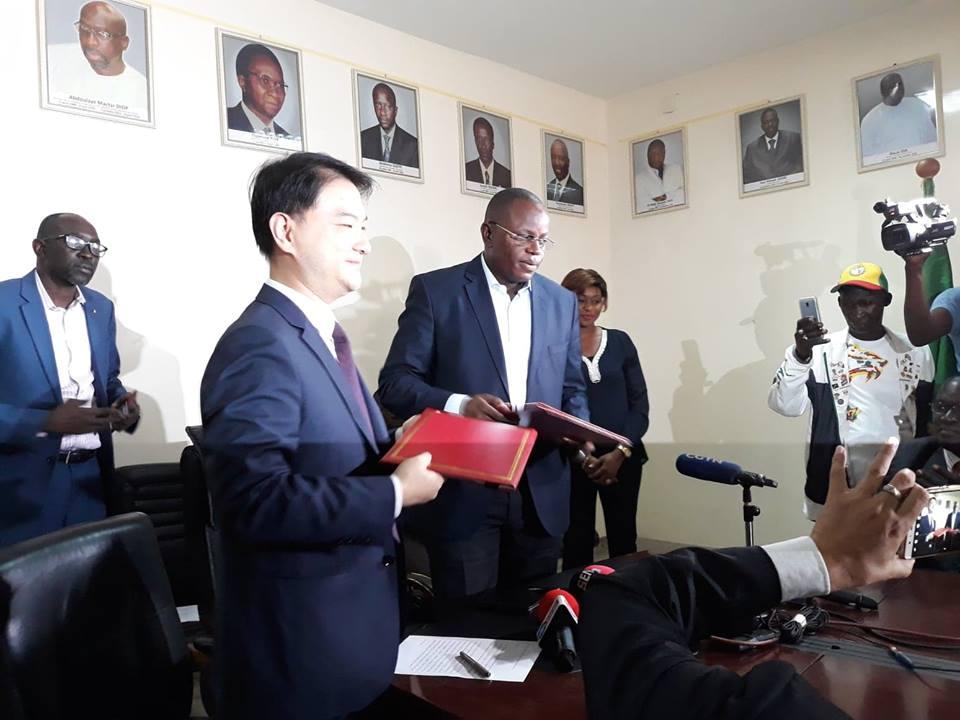 Chine, Réhabilitation de 4 stades, Sénégal