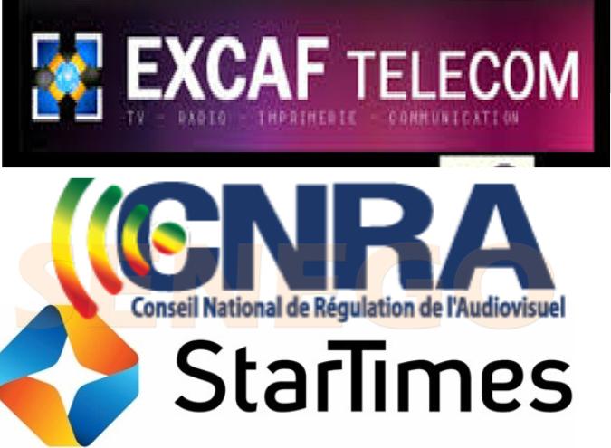 Cnra, Contrat de Sponsoring de Startimes, excaf