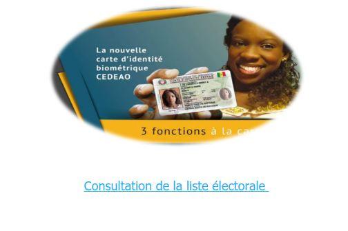 fichier électoral, ligne
