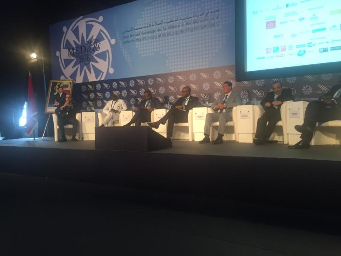 au panel sur les investissements et infrastructures, Intervention, l'Honorable Abdoulaye Vilane, Maroc - Forum MEDays