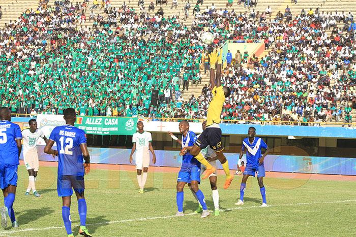 Casa sport, Football, Ligue 1, première journée, US Gorée