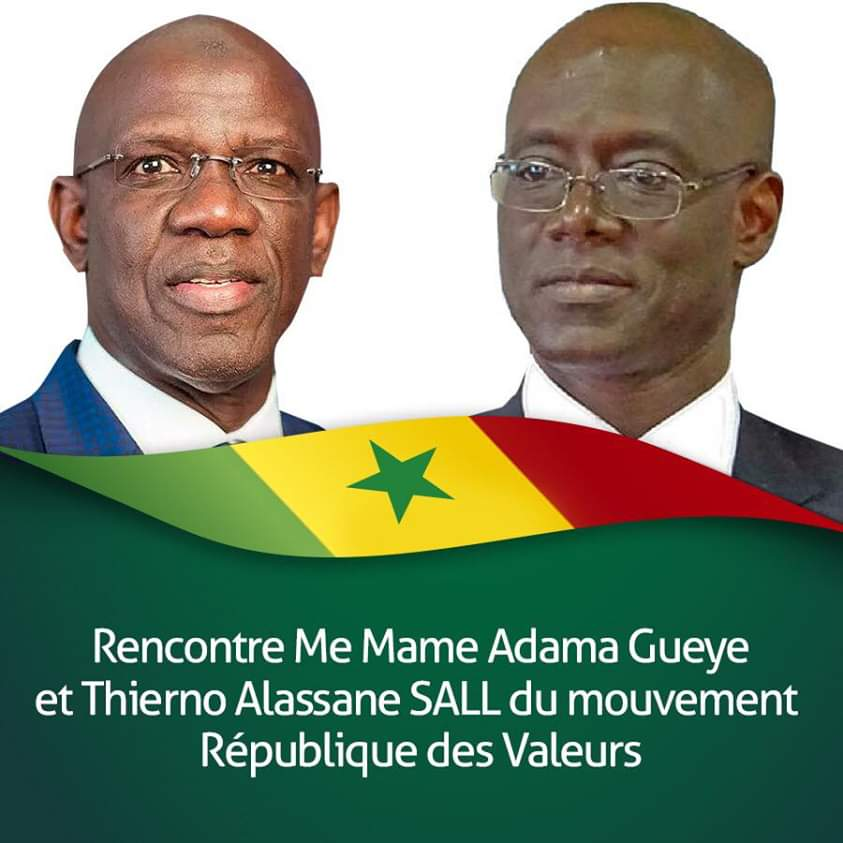Me Mame Adama Guèye, Opposition, thierno alassane sall