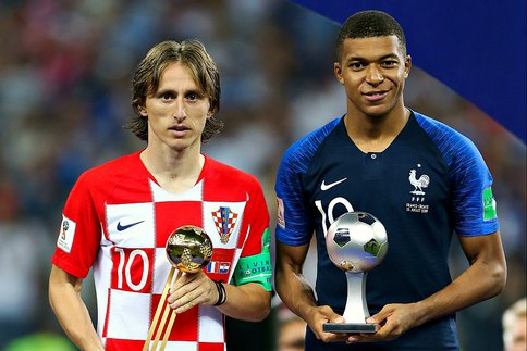 Ballon d'or, Mbappé, Modric, Podium