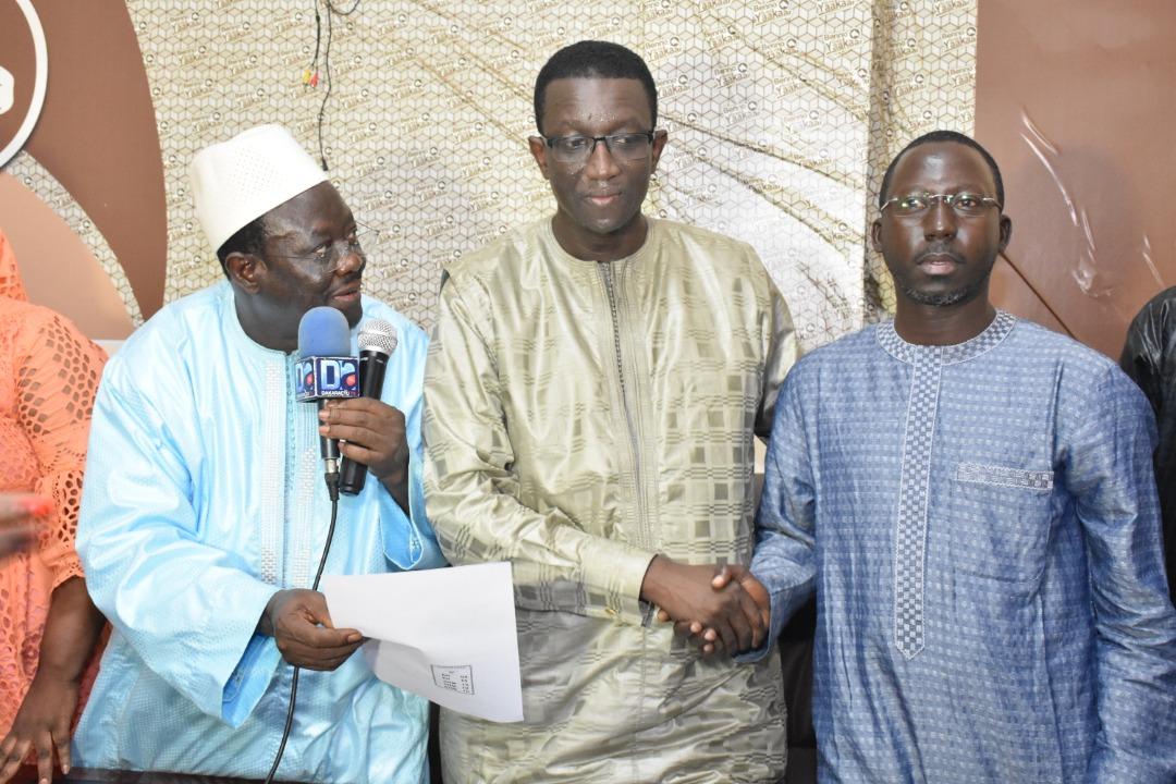 Amadou Ba félicite Mora Cissé, Parrainage à Grand Yoff, promet la victoire au président Macky Sall, son fief