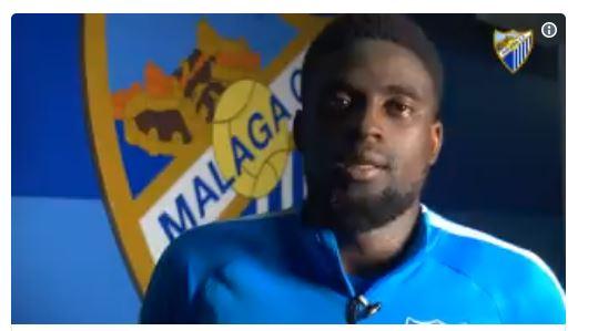 Alfred Ndiaye, Excuse, Malaga