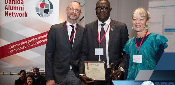 """lauréat du """"Prix DANIDA ALUMNI"""" 2018, Le Sénégalais Cheikh Mbow"""