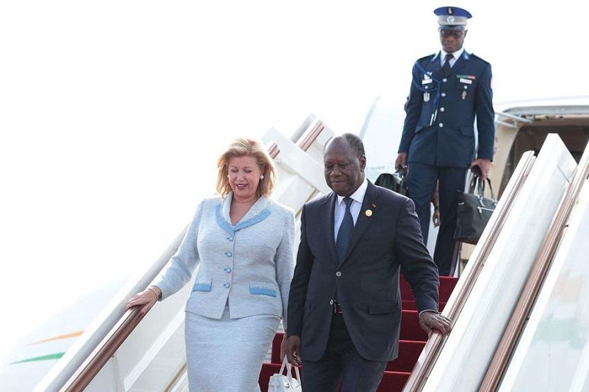 est arrivé à Dakar, l'internationale libérale, le président Ivoirien, Soixante sixième (62e) congrès