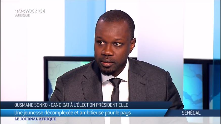 Lamine Diack, Macky Sall, Ousmane Sonko