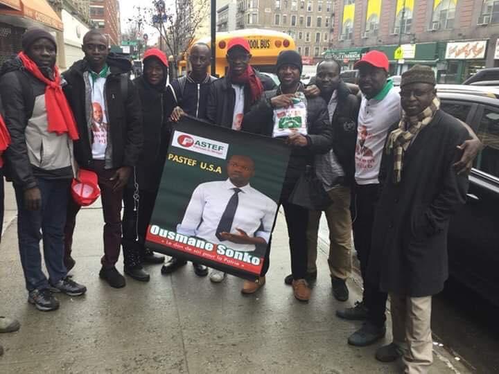 Etats-Unis, la diaspora sénégalaise, Ousmane Sonko