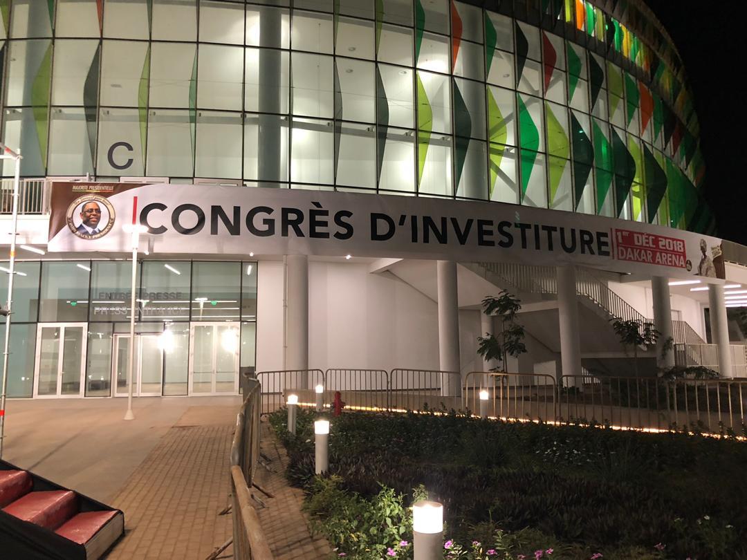 Apr, Dakar Arena, investiture, Macky Sall